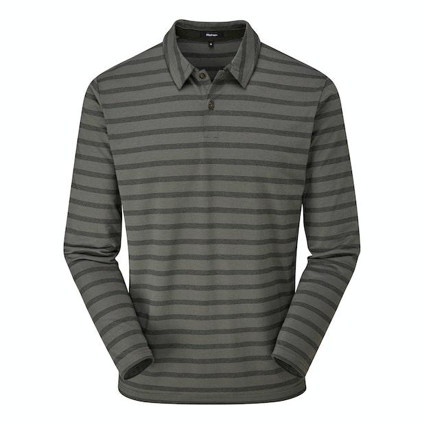 Stratum Polo - Technical long sleeve polo shirt.