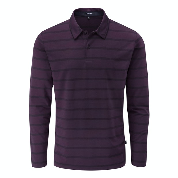 Stratum Polo - Technical long sleeve polo shirt.