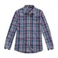 Viewing Fenland Shirt Long Sleeve - Deep Navy Check