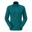 View Microrib Stowaway Jacket - Dark Teal
