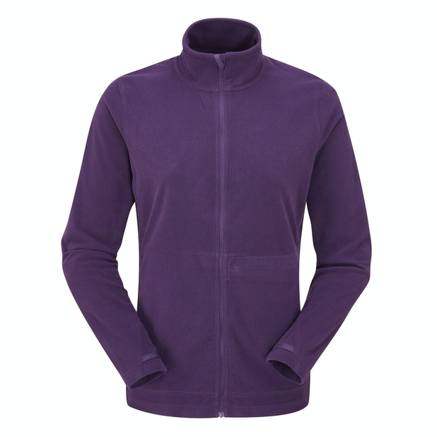 Microrib Stowaway Jacket - Lightweight and versatile insulating fleece jacket.