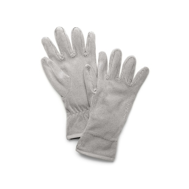 Microrib Gloves - Cirrus Grey