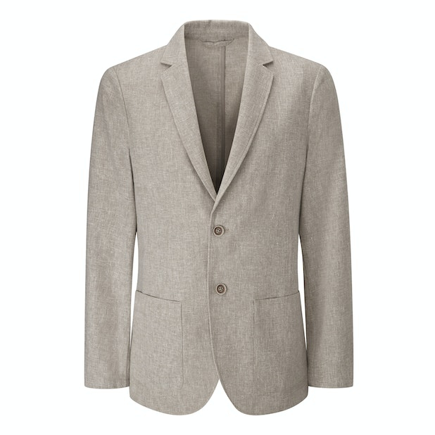 Maroc Jacket - Technical, smart-casual linen jacket.