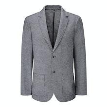 Technical, smart-casual linen jacket.