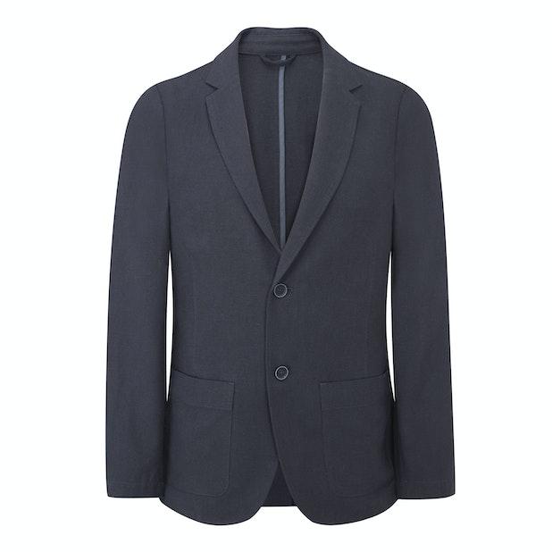 Maroc Jacket - Technical, smart-casual linen jacket.