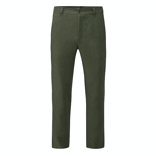 Maroc Trousers - Technical, smart-casual linen trousers.