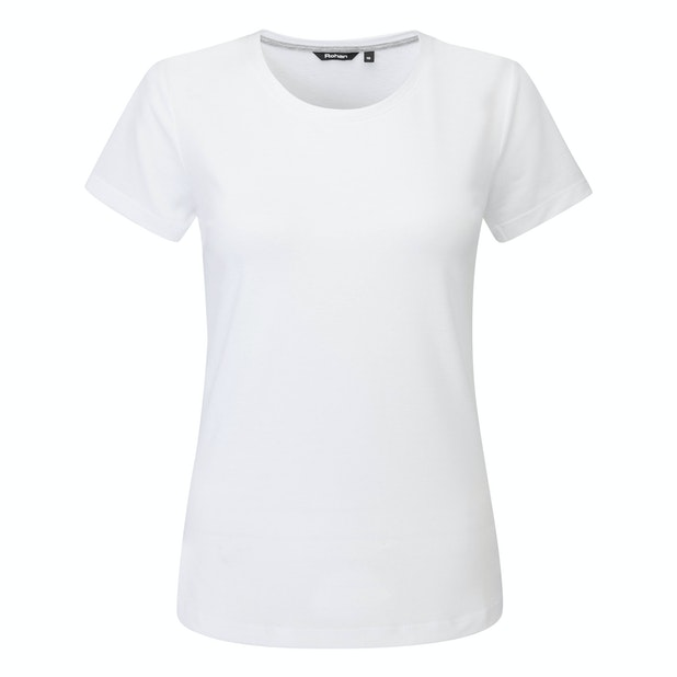 Essence T - Technical, cotton-feel crew neck T.