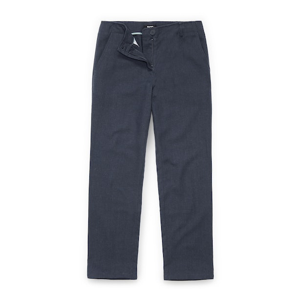 Tunis Trousers - Linen blend, crease resistant trousers.