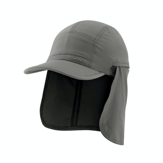 Trailblazer Cowl Cap - Insect repellent sun cap with cowl.