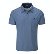 View Strata Polo - Abyss Blue Stripe