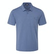 Viewing Stria Polo - Technical, cotton-feel, short sleeve polo.