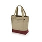 Viewing Travel Tote Bag 18 - Natural/Goan Spice