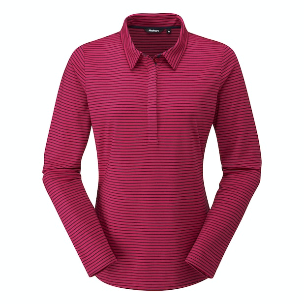 Stria Polo - High-wicking, long-sleeved alternative to a classic polo.