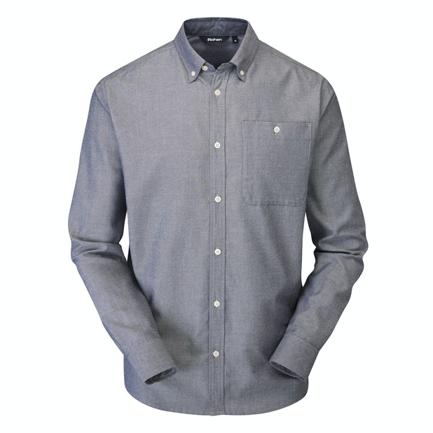 Bridgeport Shirt Long Sleeve - Ink Oxford