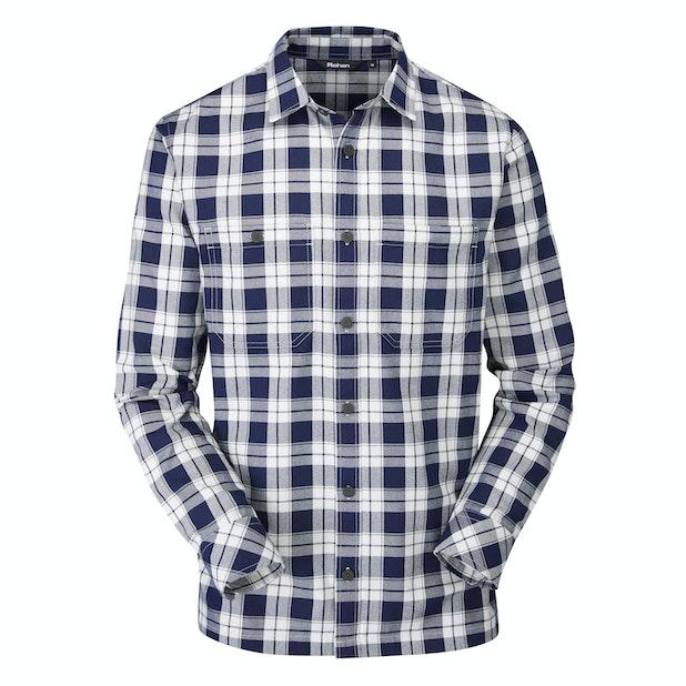 Crosscheck Shirt - Warm, technical travel shirt.
