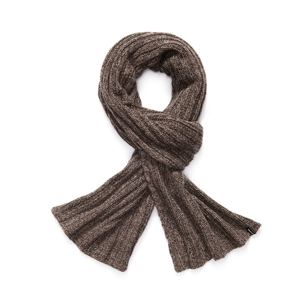 Beaufort Scarf - Knitted-effect scarf.