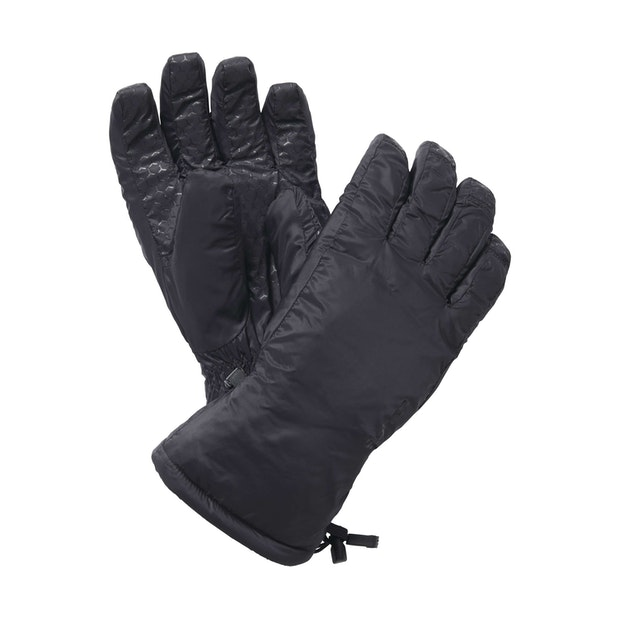 Icepack Gloves - Wadded, fleece-lined winter gloves.