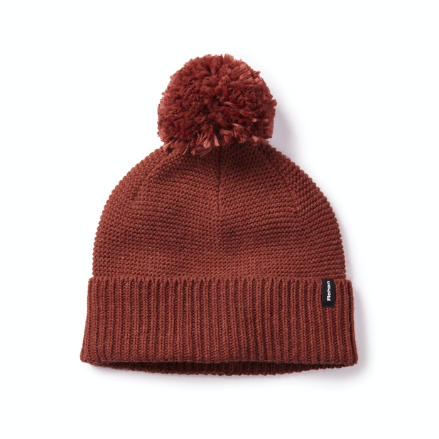 Ellesmere Hat - Soft, technical bobble hat.