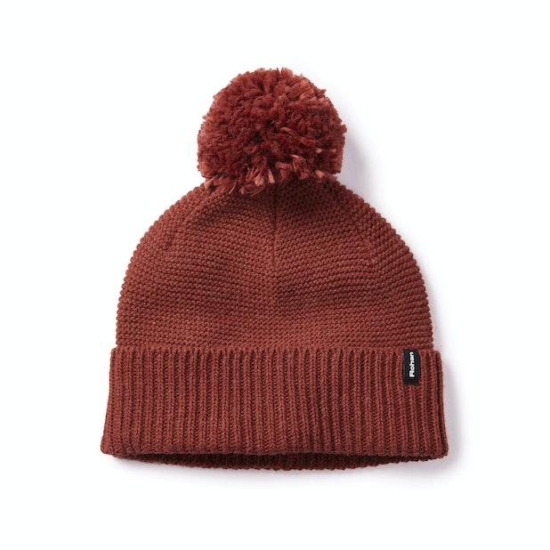 Ellesmere Hat - Soft, technical bobble hat.