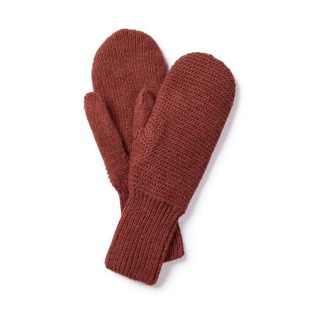 Ellesmere Mittens - Soft, lined, knit-effect mittens.