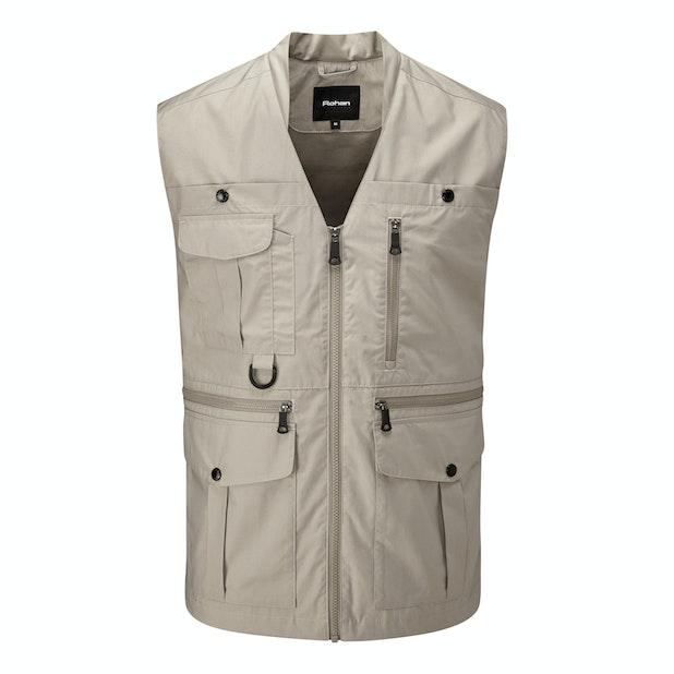 Convey Vest - Versatile, 11-pocket adventure vest.