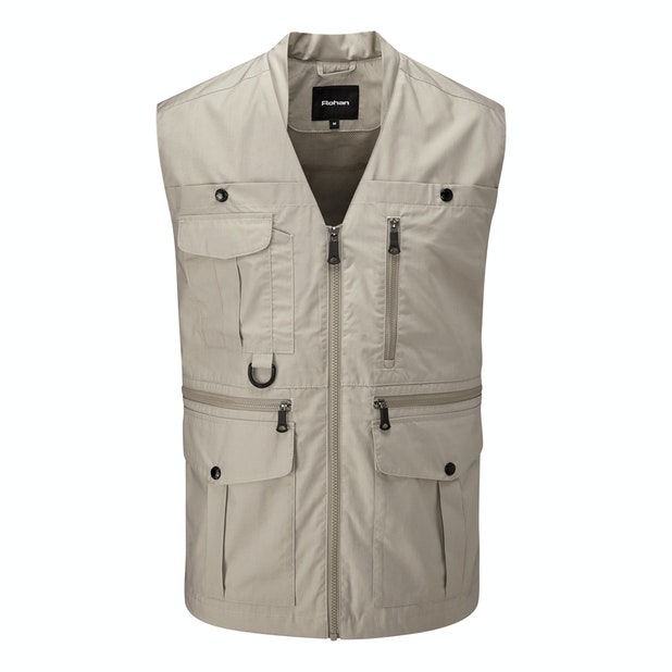 Convey Vest - Versatile, 11-pocket adventure vest.