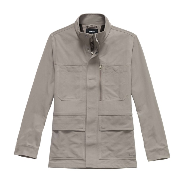 Freight Jacket - Practical, 10-pocket canvas jacket.