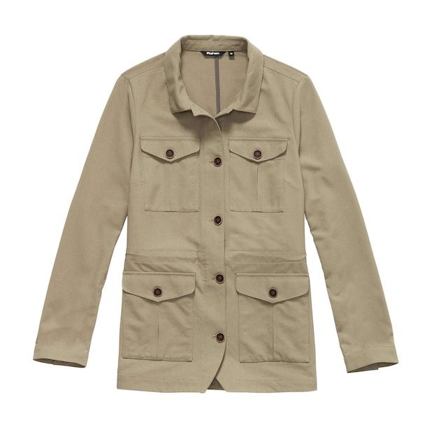 Assignment Jacket - Safari-inspired, multi-pocket, canvas jacket.
