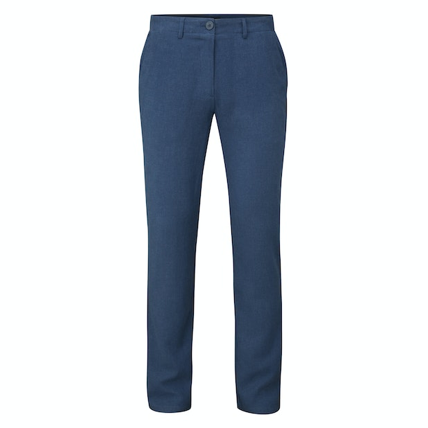 Malay Trousers - Easycare, linen-blend trousers.