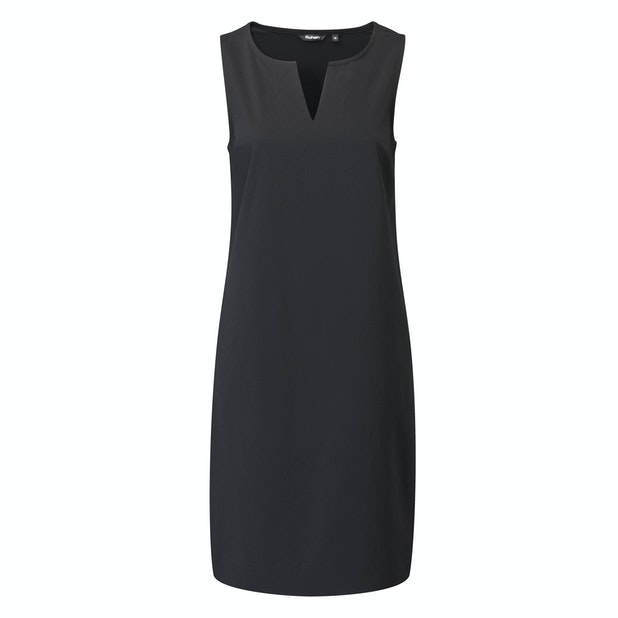 Springback Dress - Rohan's take on the little black dress.