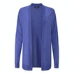 View Extrafine Merino Knitted Cover-Up Cardi - Bay Blue Marl