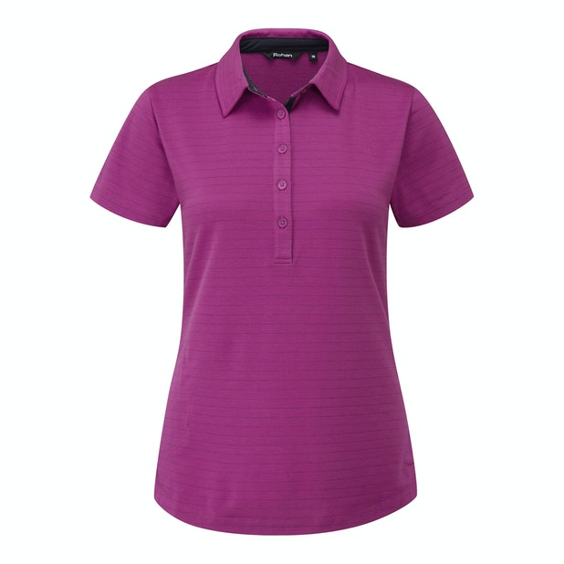 Stria Polo - High-wicking polo for active and every day wear.