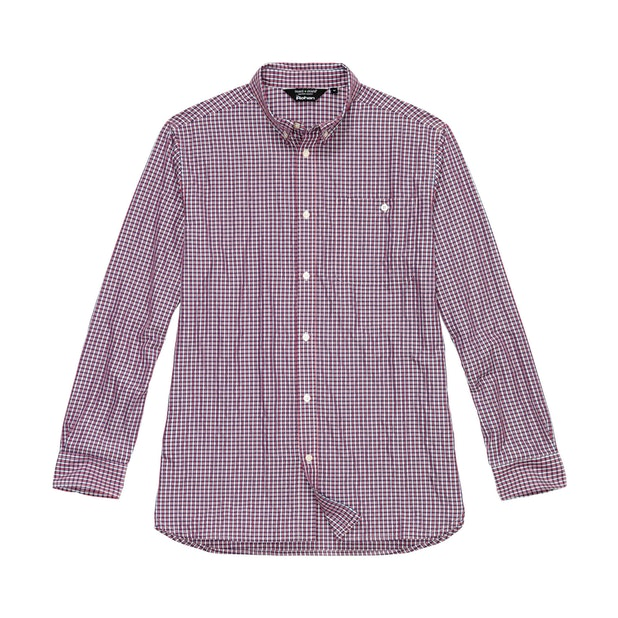 Sentry Shirt - Mineral Red Check