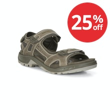 Rugged off-road sandals.