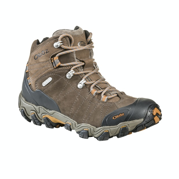 Oboz Bridger Mid B Dry - Waterproof, breathable mid-cut boots.