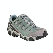 Rugged, waterproof trekking shoe.
