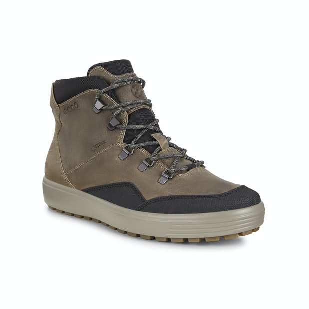 ECCO Soft 7 Tred Antora GTX - Contemporary trainer-boots with Gore-Tex™ technology.