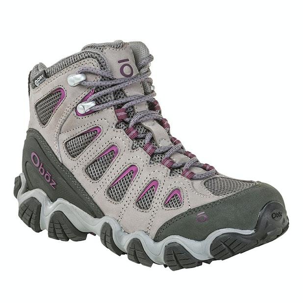 Oboz Sawtooth Mid B Dry - Rugged, waterproof trekking boot.