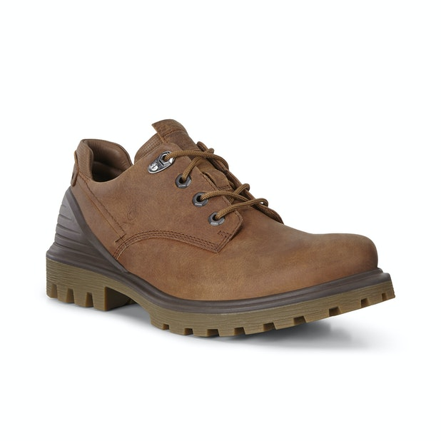 ECCO Tred Tray  - Rugged Derby style shoe with HM100k™ waterproof leather.