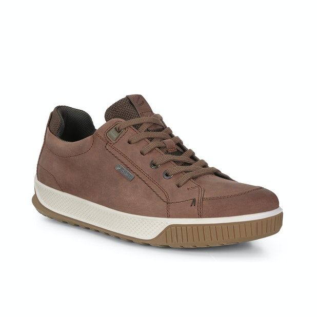ECCO Byway Tred GTX - Contemporary leather trainers with Gore-Tex® technology.