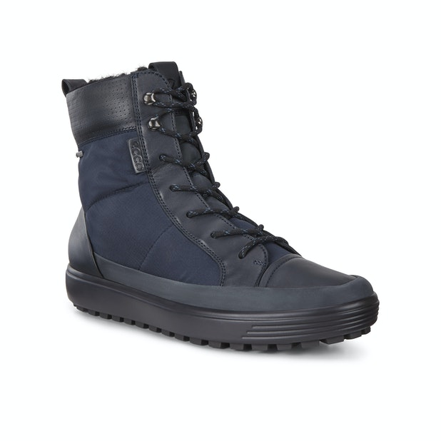 Ecco Soft 7 Tred Lace GTX  - Rugged lace up boot with Gore-tex™ technology.