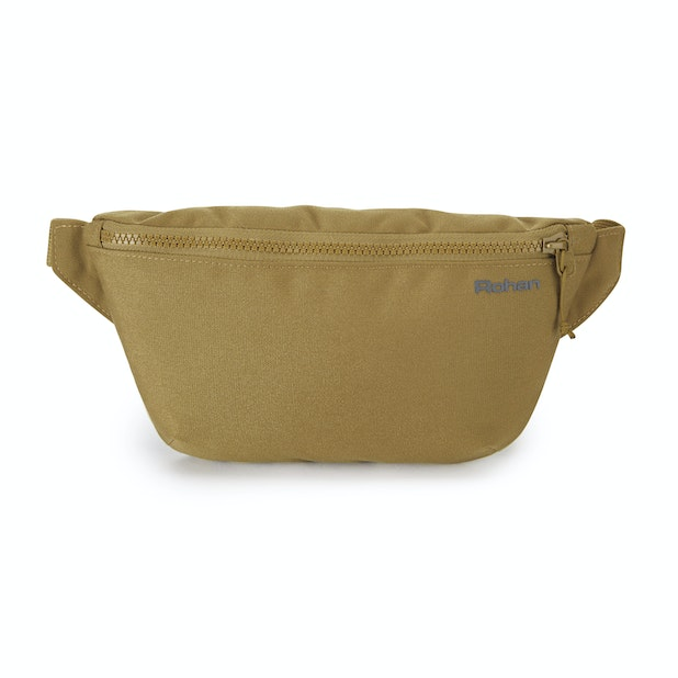 RFID Protected Canvas Waist Pack Small - RFiD protected waist pack.