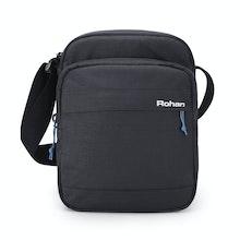 RFID protected shoulder bag ideal for travel.