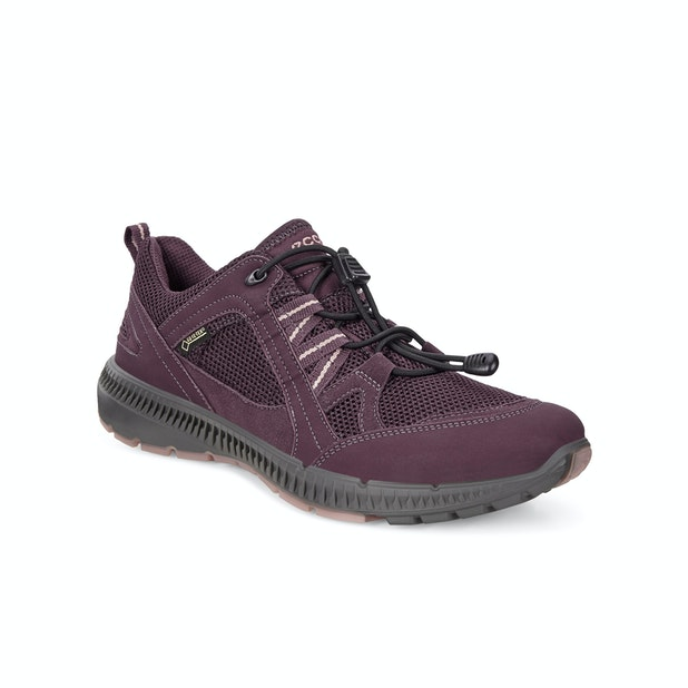 Ecco Terracruise Pitkin GTX  - Waterproof quick-lace trainers for trail running and lightweight walking.