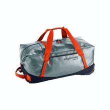 Durable, water-resistant wheeled duffel bag for big adventures.