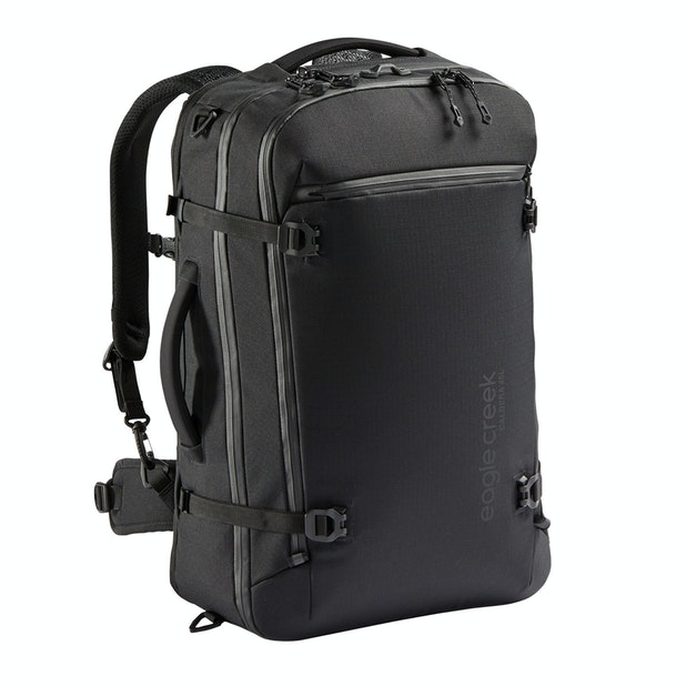 Caldera Travel Pack 45L - Eagle Creek – Tough, convertible travel pack with NFC tracking technology.