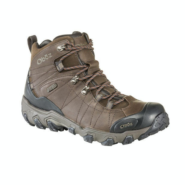 """OBOZ Premium Bridger Mid B Dry  - Waterproof, breathable hiking boots made with superior materials. <br /><span style=""""color:#007380;font-weight:bold"""">Plus free shoe care kit worth &pound;16</span>"""