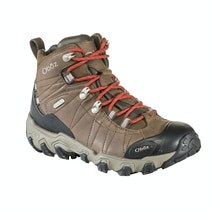 Waterproof, breathable hiking boots made with superior materials.