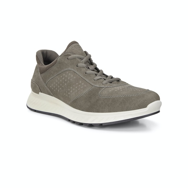 Ecco Exostride - Sporty, lightweight leather trainers for everyday comfort.