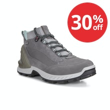 Rugged trekking boots with Gore-Tex® technology.